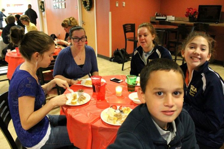 Wannabe Current French students - Christmas Lunch 2012